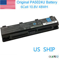 Genuine Toshiba C840 C850 L70 L75D PA5109U-1BRS PA5024U-1BRS Laptop Battery 48Wh