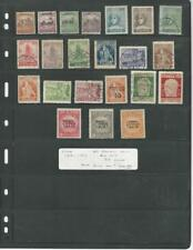 Fiume Collection 1918 to 1920 on Stock Pages, All Different