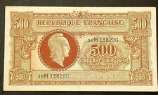 (1944) France 500 Francs P106 #1135