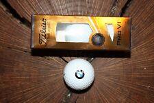 Bmw Logo Titleist Pro V1 Sleeve Of Golf Balls Must See! Prov1