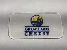 Great Lakes Cheese Hiram Ohio OH Company Logo Manufacturer Dairy Sew Patch E