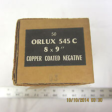 "Orlux Lorraine Negative 8mm x 9"" Carbon Arc Rods 50pc"
