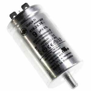 Condensateur 9µf/455v pour Seche-linge Miele