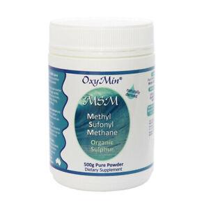OxyMin MSM 500g Organic Sulphur