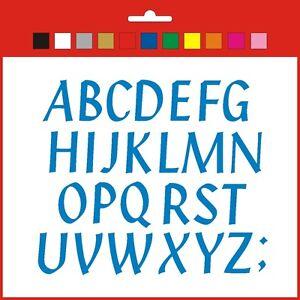 Big Sticky Letters Full Alphabet Set 50/60/70mm signs banner shop window Penstyl