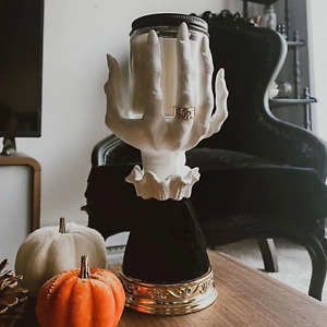 Bath Body Works Halloween Witch Hand Candle Holder Candle Stand Single Wick 2021