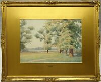 JAMES PURDY (1900-1972) SIGNED ORIGINAL WATERCOLOUR PAINTING BRAMCOTE MEADOWS