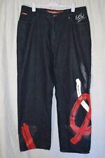 Ecko Unltd 1972 Baggy Brushstroke Jeans Size 42 100% Cotton RN93536