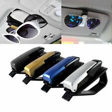 Auto Car Accessories Sun Visor Eye Glasses Sunglasses Card Pen Clip Holder Hot