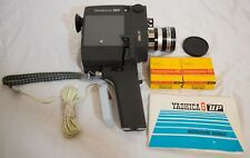 Vintage Yashica UP 8mm Film Camera New Remote 2 Film Cap Manual Case $0 Shipping