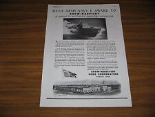 1945 Print Ad Snow-Nabstedt Marine Transmissions World War II Boat Hamden,CT