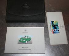 Mercedes classe A W168 Manuale istruzioni Mappa di bordo Tedesco Uscita C