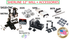 5410 Cnc Metric Cnc Ready Deluxe Mill Various Accessories
