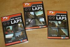 More details for new & sealed – isle of man tt on-bike 2009, 3 x dvds – guy, mcg, reeves, moly…