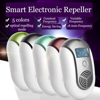 Smart Pest Repeller Ultrasonic Wave Optical Electronic Rats Bats Mosquito Killer