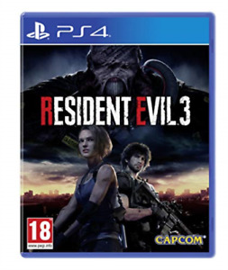 Ps4-Resident Evil 3 (Ps4) (UK IMPORT) GAME NEW