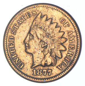 1877 Indian Head Cent - Walker Coin Collection *860