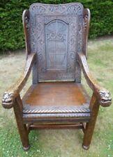 Oak Country Pre-Victorian Chairs (Pre-1837)