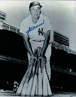 Irv Noren Signed 8X10 Photo Autograph New York Yankees w/Bats Auto COA Blue Ink