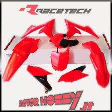 KIT PLASTICHE RACETECH YAMAHA YZF 250 - 450 2014 - 2017 REPLICA 6 PZ ROSSO-NERO
