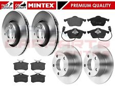 FOR VW PASSAT B5 3B5 3B6 FRONT REAR MINTEX BRAKE DISCS and MINTEX PADS 1997-2005