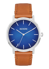 **30% OFF!!** NIXON 'Porter Leather' / Blue Ombre - Saddle / RRP £132 / Gorgeous