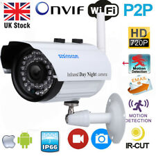 720P HD IP Kamera Wifi Wireless Netzwerk WIFI CCTV Nachtsicht Outdoor Camera