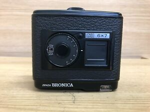 Near Mint Zenza Bronica 6x7 GS 120 Roll Film Back Holder for GS-1 From Japan