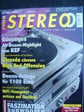 STEREO 8/06,PIONEER CT F 1250,KLIPSCH RF 83,DYNAUDIO SUB 300,ECLIPSE TD 725 SW