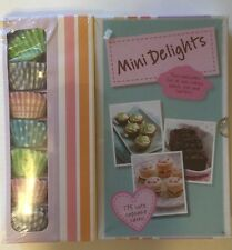 Mini Delights Baking Cook Book With 175 Spring Summer Cupcake Cases Kids