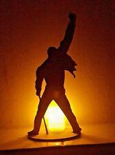 Freddie Mercury Silhouette Laser Cut  Perspex Acrylic Music Icon Queen