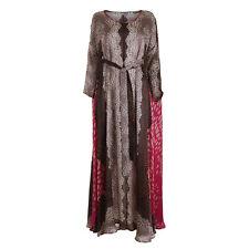 Issa London Oversized Printed Silk Kaftan Dress Size UK 12 US 8 L Large