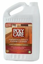 PolyCare Hardwood & Laminate Floor Cleaner - Great for Floors Cabinets 1 Gal