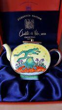 """New Boxed Charlotte di Vita Miniature Enamel Teapot """"Leapfrog CM165"""""""