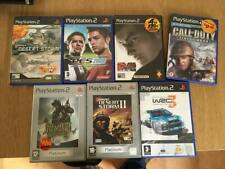 lot of 7 PS2 games PES 2008 Medal honor call duty desert storm wrc 3 tekken