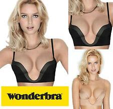 Wonderbra Ultimate Plunge Women's Bra Black 38c