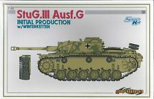 Cyber Hobby 6598  StuG.III Ausf.G Initial Production w/Winterketten 1/35th *RARE