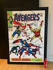 Los Vengadores * Edición Limitada * firmada por Stan Lee-Enmarcado/agotadas