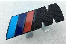 3D M Power Car Front Grill Badge Logo EMBLEM Sticker FOR BMW X1X3 X5 5/6/7series