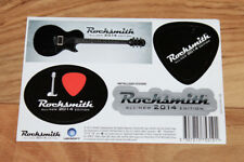 Rocksmith All New 2014 Edition Promo Sticker Set Xbox One PS4 Ubisoft 2013 PS 4