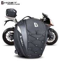 Motorcycle Tail Pack Motorbike Tail Bag Waterproof Bike Saddlebag Black