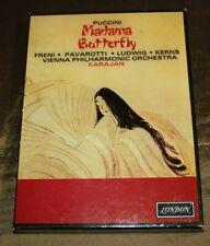 Puccini Madama Butterfly Karajan Boxed set 2 cassettes OSA513110