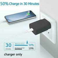 For Apple iPhone 12 /Pro/Max charger 20W Fast Wall Power C Adapters USB W2A7