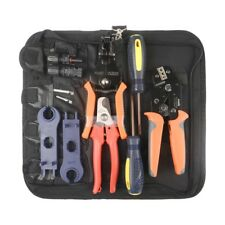 IWISS MC4 Solar PV Cable Crimping Tool Kit for 2.5/4/6mm ²with stripper,cutter