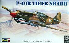 Revell Monogram 1:48 P-40B Tiger Shark Aircraft Model Kit