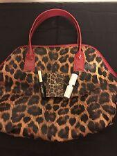 Elizabeth Arden 4 Pc Limited Edition Leopard Gift Bag Makeup set