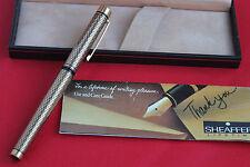 SHEAFFER Imperial Sovereign Füller / Füllfederhalter mit 14kt 585 Goldfeder OVP