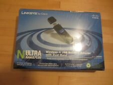Linksys Wireless-N USB Network Adapter W/ Dual Band N-Ultra RangePlus