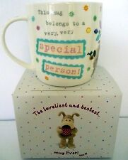 """BOOFLE"" CHINA MUG ""VERY SPECIAL PERSON! XXX"" GIFT BOXED! CUTE BIRTHDAY GIFT! BN"