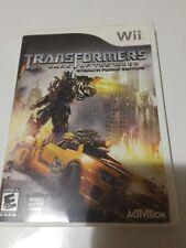 Transformers: Dark of the Moon - Nintendo Wii